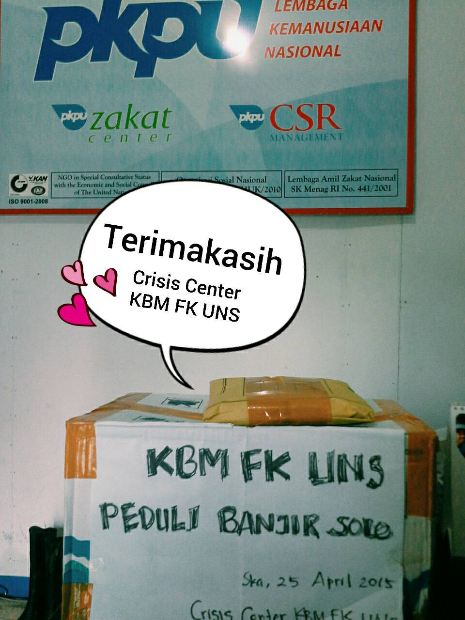 CRISIS CENTER KBM FK UNS