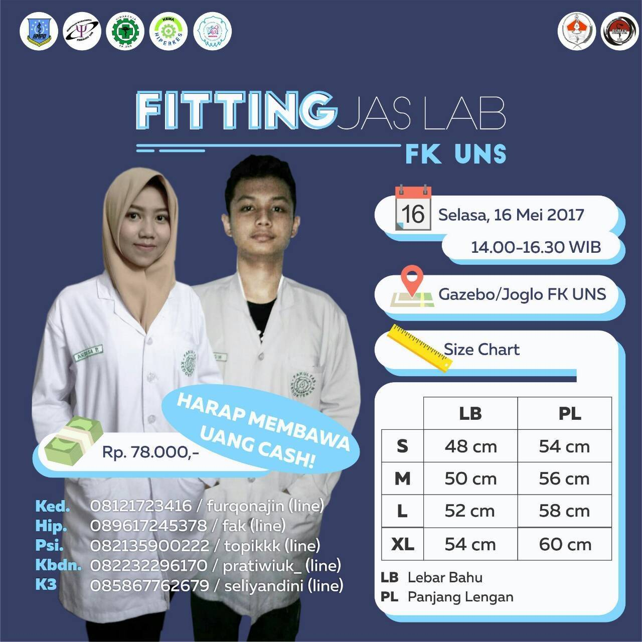 Fitting Jas Lab FK UNS